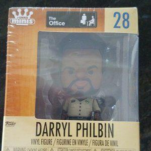 The Office Darryl Philbin Mini Funko Brand New